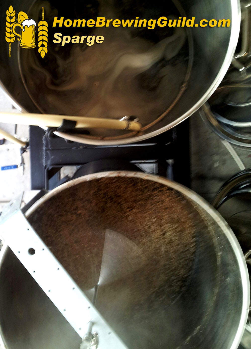 Home Brewing Sparge